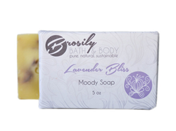 Lavender Bliss Soap Bar from Brosily Bath and Body, as gifted at GBK's 2015 Golden Globes Celebrity Gift Lounge.