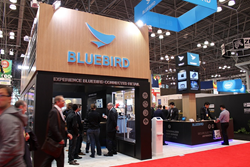 Bluebird booth at the NRF 2015