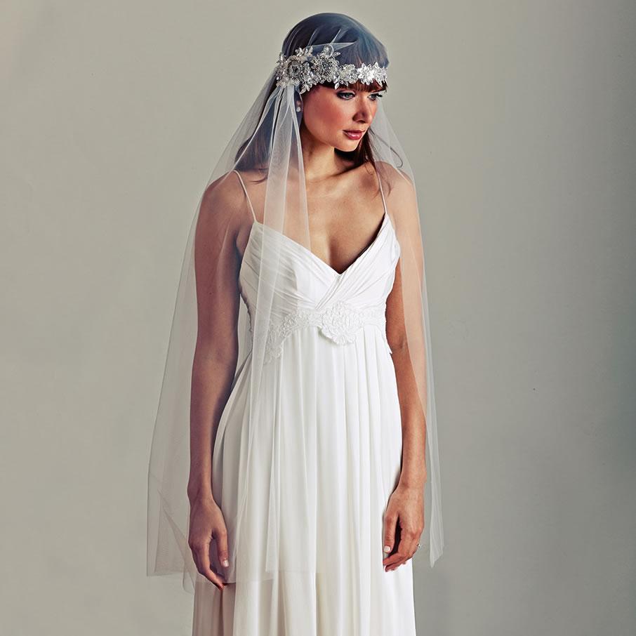 Art Deco Wedding Veils Set The Trend For 2015 Brides