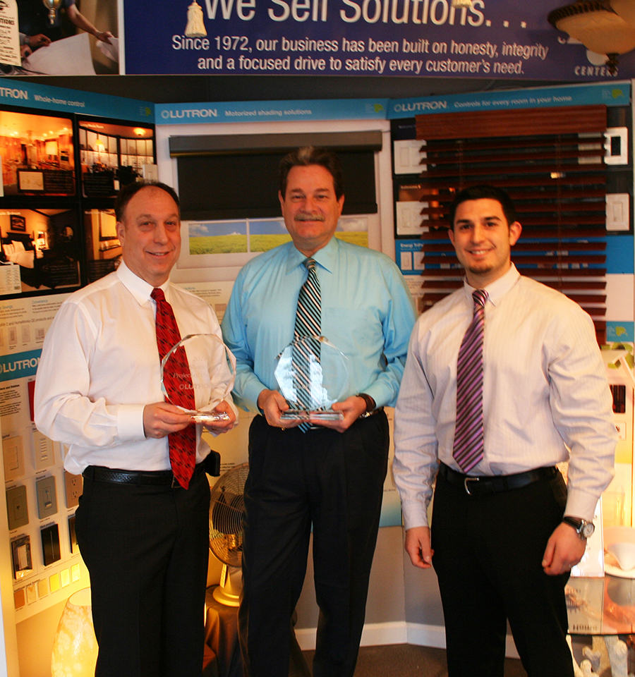 Connecticut Lighting Centers Took Home Two Of The Six 2014 Lutron 5 Star  Showroom Category Awards: Home Systems Project Of The Year, And Shades  Project Of ...