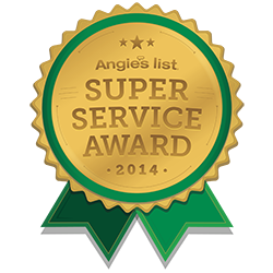 "Angie's List selects Giroud Tree and Lawn to receive its prestigious ""Super Service Award"" for 2014"
