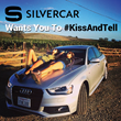 Silvercar launches #KissAndTell This February