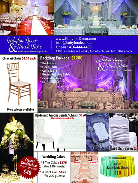 Babylon Wedding Services Expanding Their Umbrella Of Services To