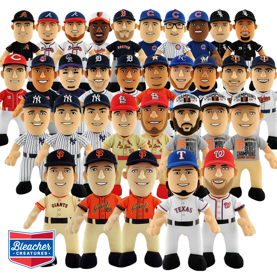 Bleacher Creatures' 2015 MLB Plush Line-Up Scores Grand ...