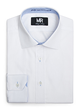 Manuel Racim Accent Color Dress Shirt, measured in NYC by SRS and made in France with the finest Italian Fabrics