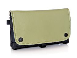 Nintendo New! 3DS CitySlicker—Kiwi leather flap