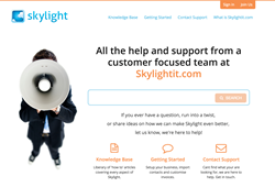 Skylightit Business Management and Productivity Tool Launches New Support Site support.skylightit.com