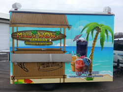 Maui Wowi concession trailer.