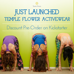 Temple Flower just launched apparel