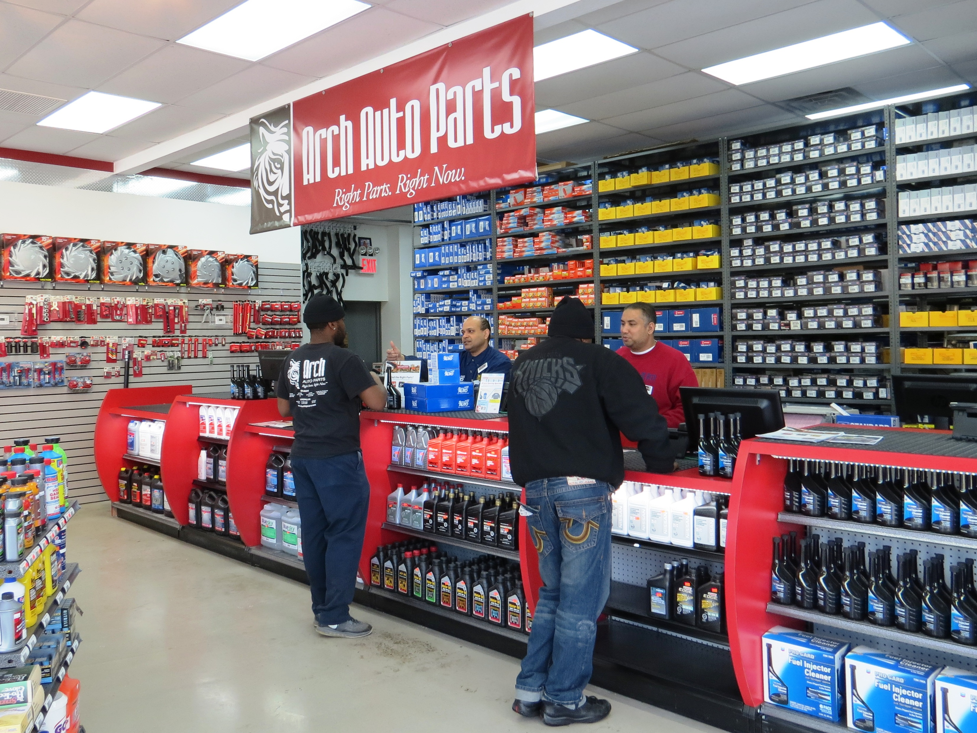 new arch auto parts store in queens ny provides exact parts needed for 95 percent of shoppers. Black Bedroom Furniture Sets. Home Design Ideas