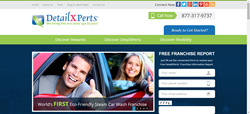 DetailXPerts Car Franchise's website relaunches with a fresh responsive design