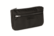 Padded Gear Pouch—black ballistic nylon with black leather details