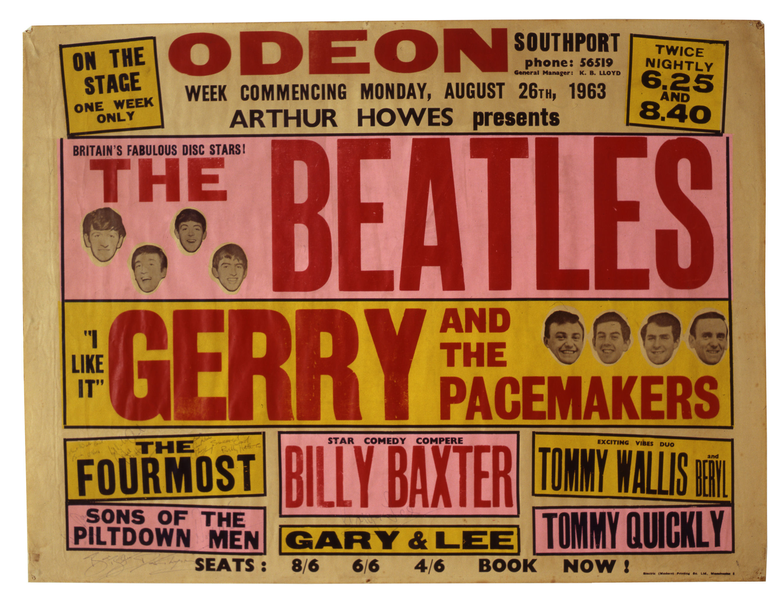 UK Based Beatles Dealers On The Search For Beatles Concert Posters In March  2015