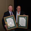 ICPI Lifetime Achievement Award Recipients Chris Ross (left) and David Bender (right).