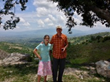 Rachel and Fielder in Haiti