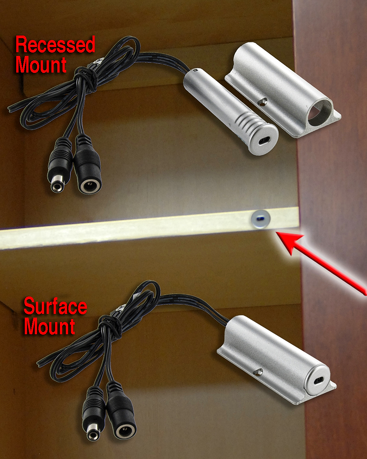 Outwater Introduces Its Led Closet Rod Light Kit