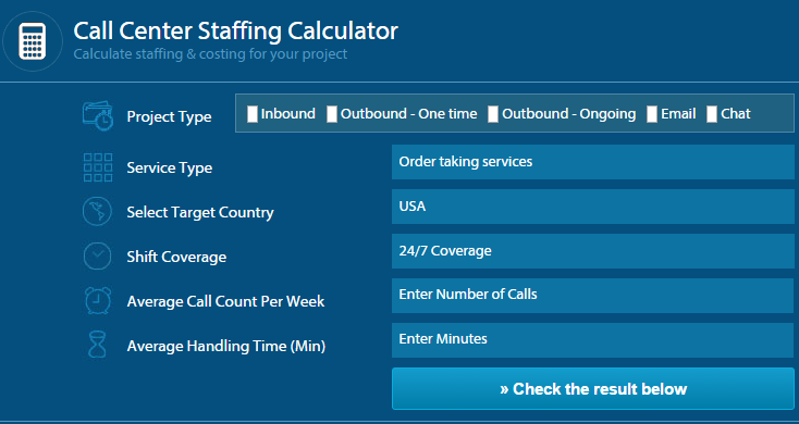 Outsource2india Launches an Online Cost Calculator for Call Centers
