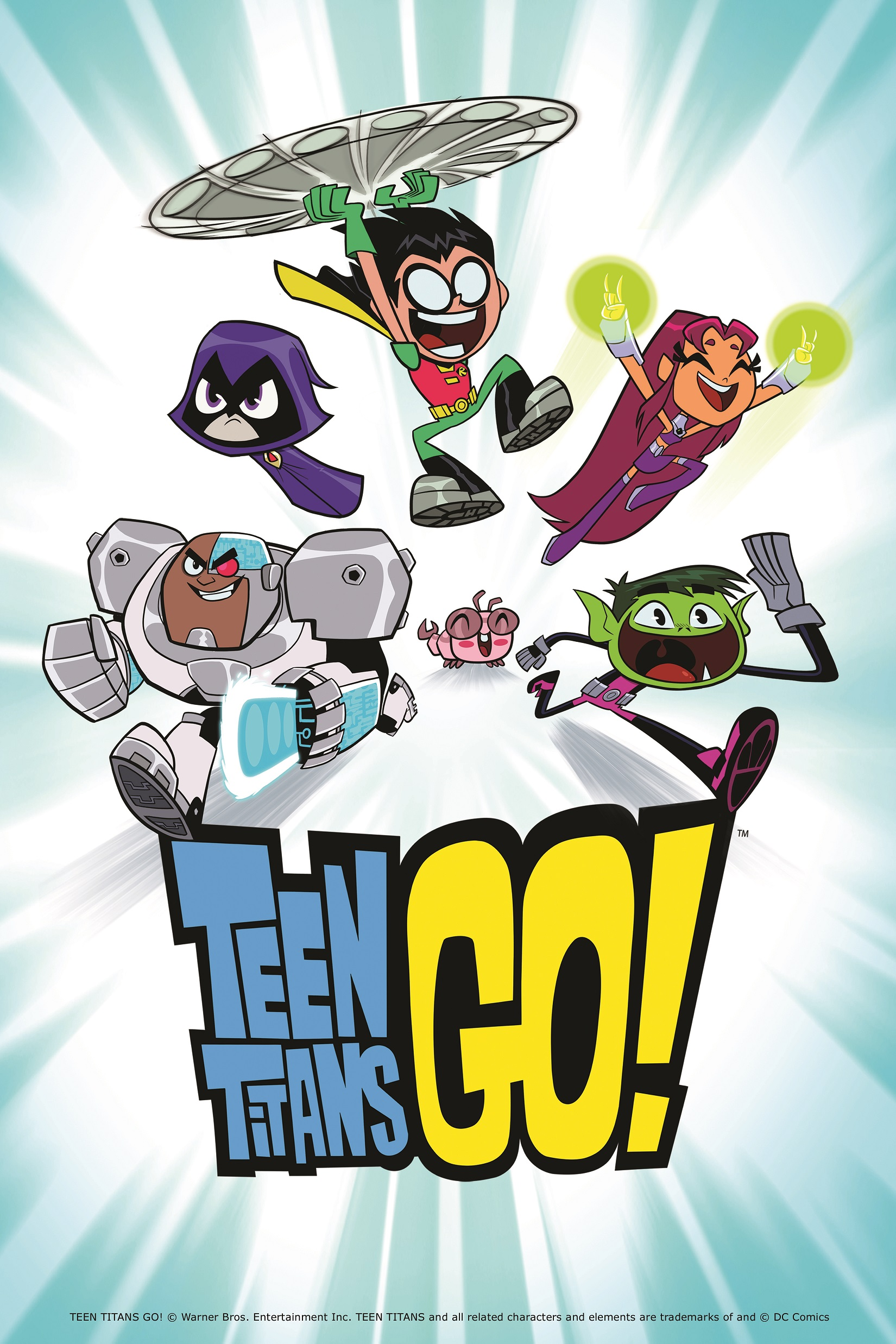 network teen titans airs weedays