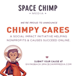 Space Chimp Media Launches Chimpy Cares to Help Causes Online