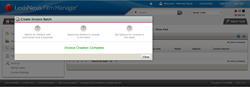 LexisNexis Firm Manager Batch Invoicing