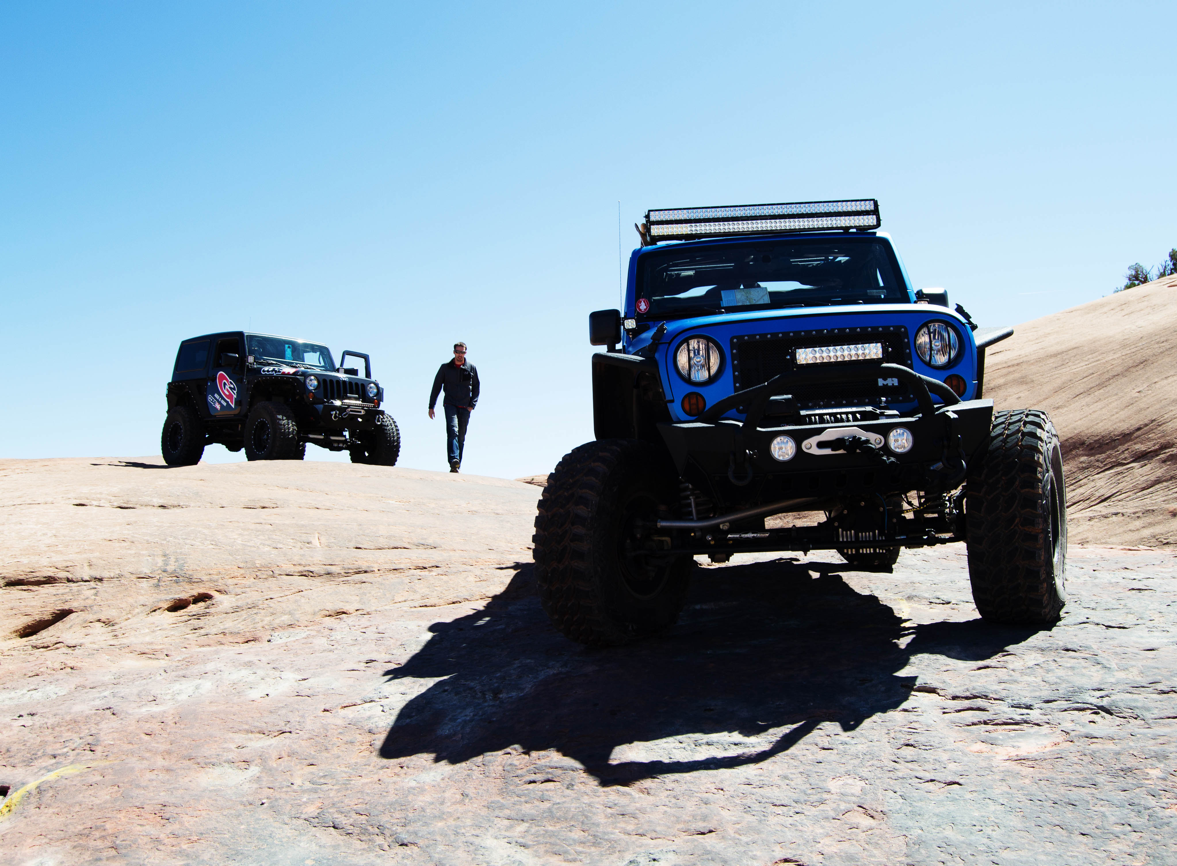 4wd Sponsoring And Riding The Trails At Easter Jeep Safari Parts Accessories Soft Tops From