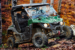 Yamaha, through its relationships with organizations such as Ducks Unlimited, Rocky Mountain Elk Foundation, Safari Club International, Buckmasters, Tread Lightly!, National Wild Turkey Federation and NHFD, among others, is a continued supporter of conser