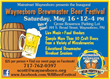 Franklin County Visitors Bureau Adds Waynesboro Brewmaster Beer Festival To Slate Of Spring Activities