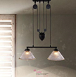 Garnet Industrial Pendant Light 98232 From Zuo Modern