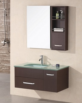 offset bathroom sink homethangs has introduced a guide to bathroom vanities 13840