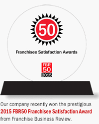 2015 FBR50 Franchise Satisfication Award
