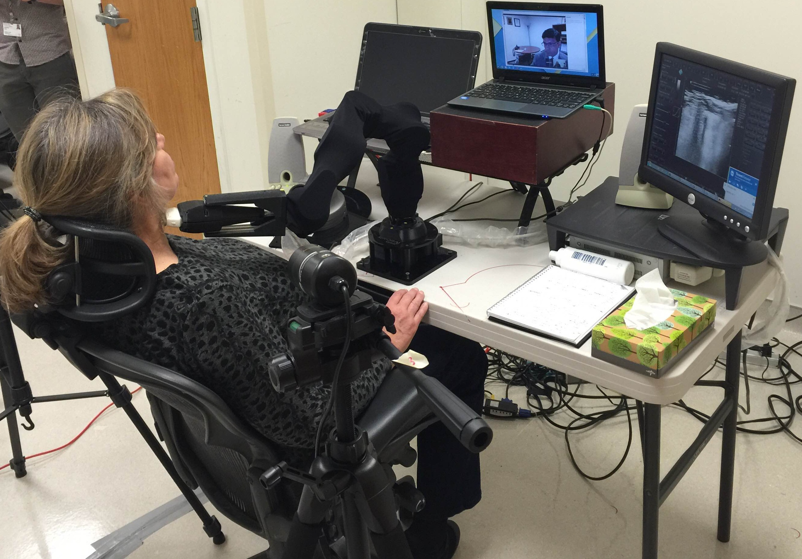 Making Waves with Robotic Ultrasound Between New York and