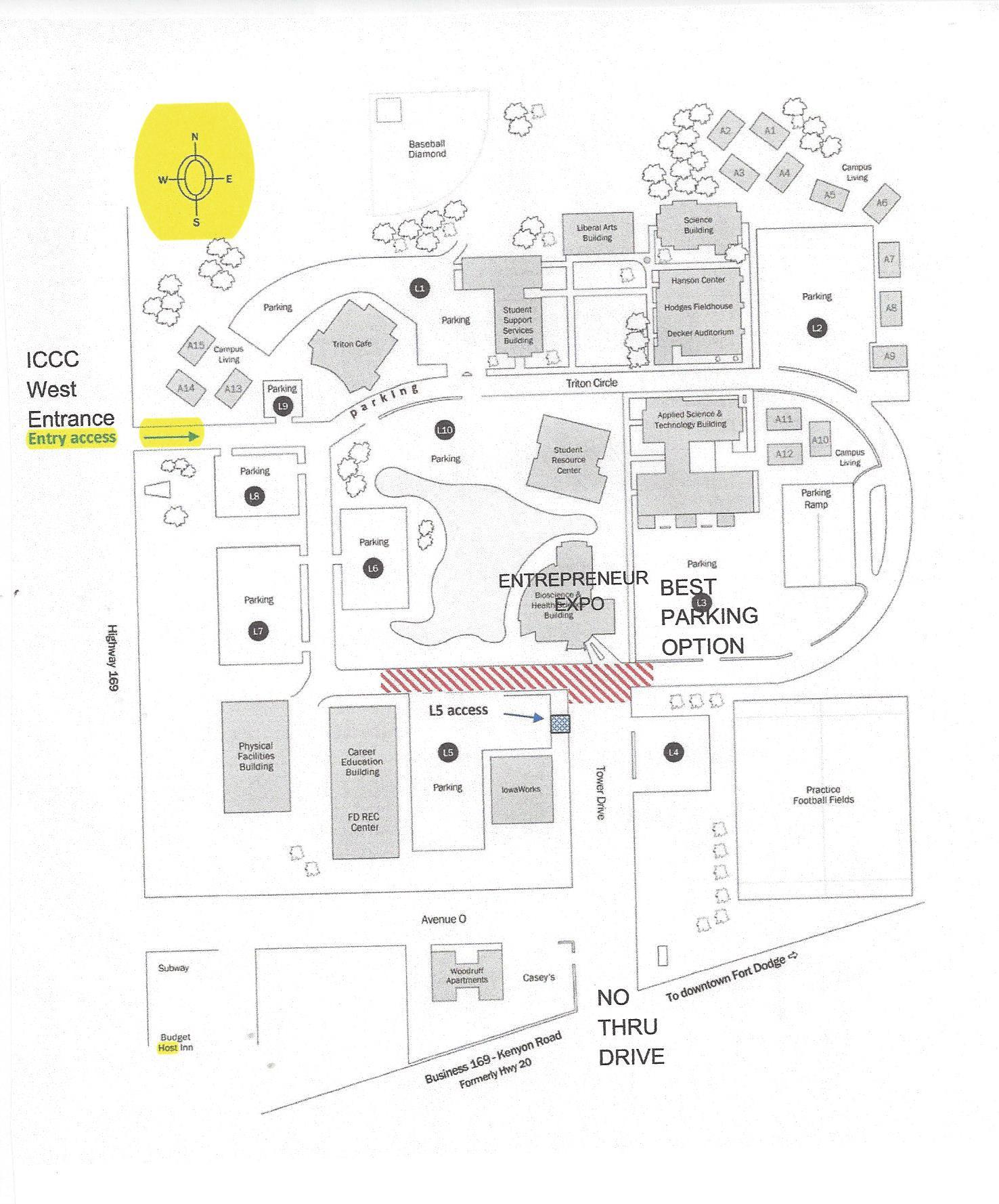 Kenyon Campus Map on kenyon campus size, kenyon college, kenyon ohio map, gambier ohio map,