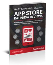 The Mobile Marketers Guide to App Store Ratings and Reviews - eBook Cover