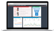 Track your metrics in one business dashboard, with Dasheroo.
