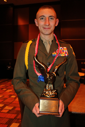 2015 - 2016 National Young Marine of the Year – YM SgtMaj Lucas Ward