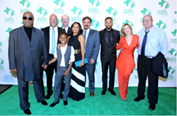 Stevie Wonder and family, Dr. Les McCabe, Matt Walsh, Bill Bridge, Jussie Smollett, Sharon Lawrence, Ed O'Neill. Photo Credit: Rachel Murray/Getty Images