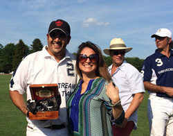 MENAJI Men's Skincare Presents Polo MVP Award