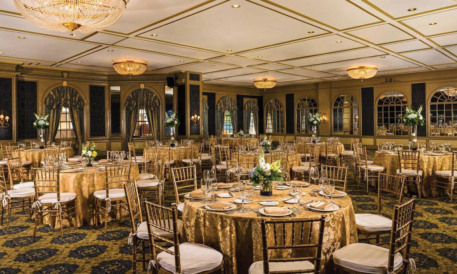 Bellevue Ballroom At Hotel Viking