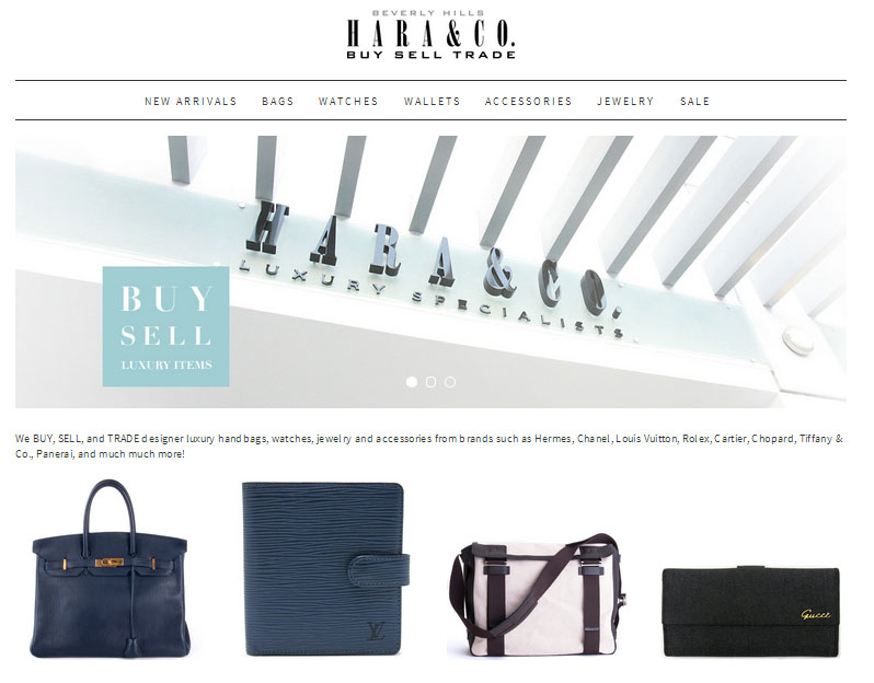 a03554db6b Pre-Owned Luxury Brands Online Shop Hara and Co. Announces the Launch of an  All New haraandco.comJapan's most trusted luxury brand reseller has  relaunched ...