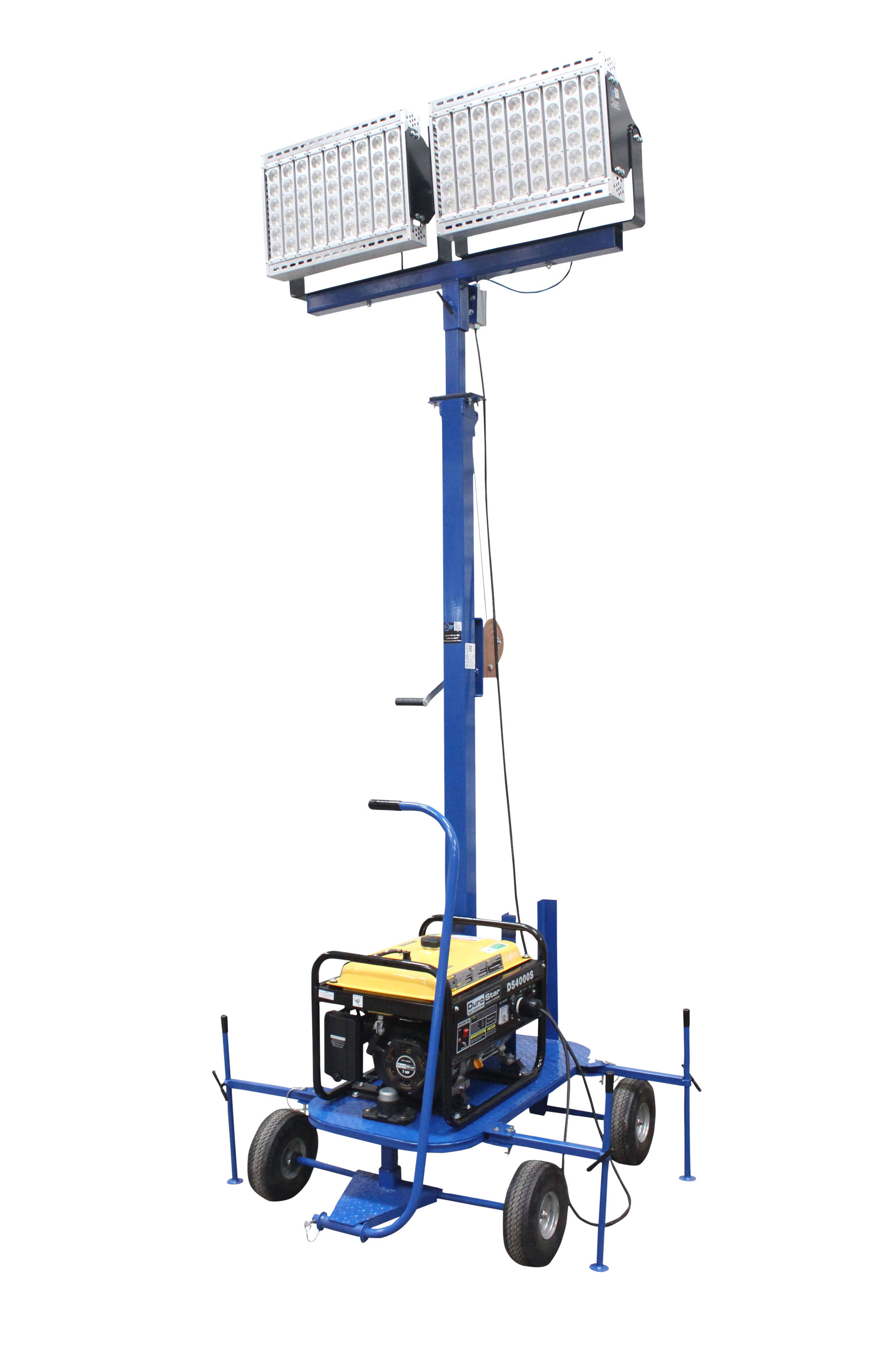 Mini Generator Powered LED Light Tower Released by Larson ...
