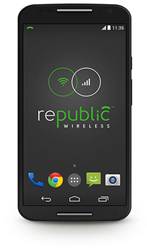 "Savvy smartphone owners know that ""WiFi first"" means big savings - The Republic Wireless Moto X/2nd Generation WiFi smartphone ($299) - uses both WiFi and cellular networks to power smartphones."