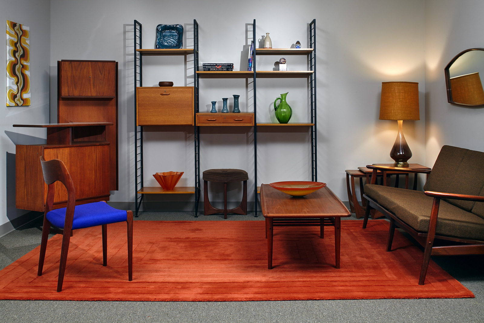 Large Selection Of Living Room Furniture At The Retropassion21 Showroom Mid  Century Furniture Store Atlanta Brazilian ...