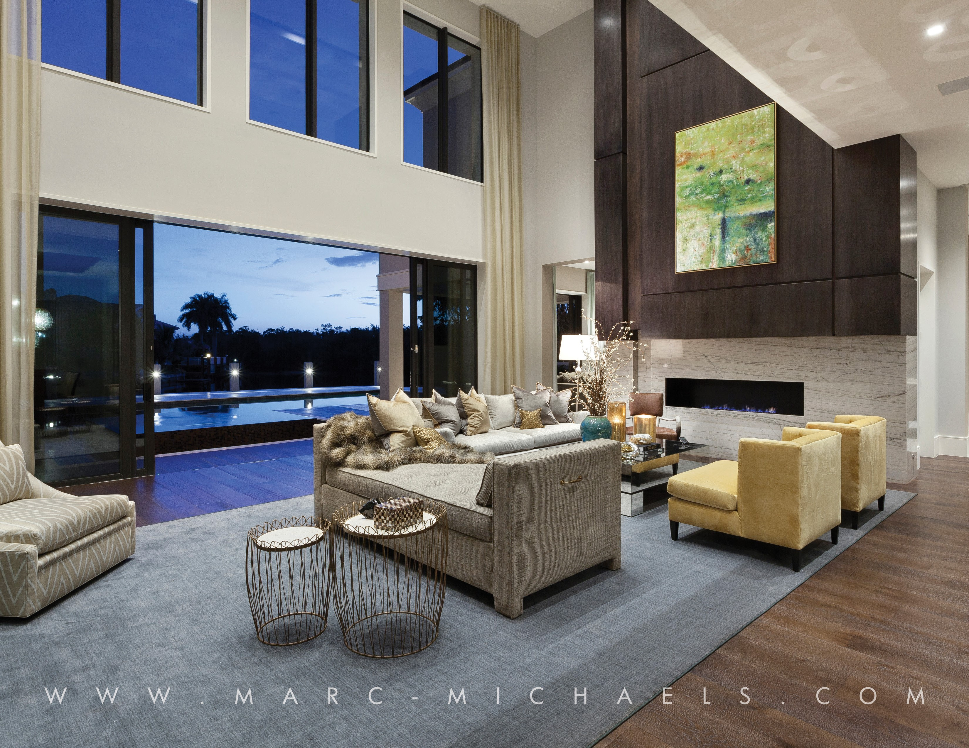 Brand New Boca Raton Home Designed By Marc Michaels Interior Design ...