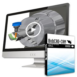 New BobCAD-CAM Mill Training Professor Video Series