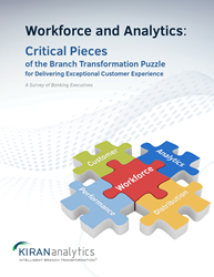 Critical pieces of branch transformation puzzle - workforce and analytics