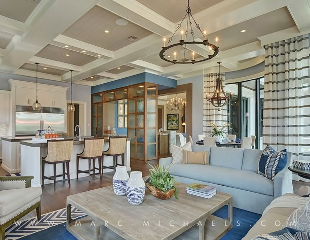 New royal palm yacht country club home designed by marc - Interior designers in new jersey ...