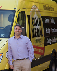 Gold Medal Service Mike Agugliaro New Jersey home service plumbing heating electrical