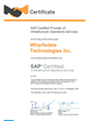 SAP Certified Infrastructure Services Partners