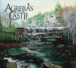 Album cover painting by April Brown of Agrelia's Castle.