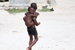 Children in Haiti.
